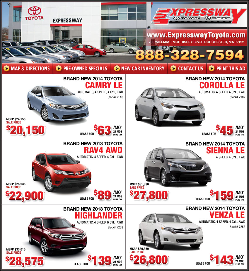 New car lease specials los angeles