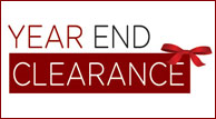 Year End Clearance Going On Now!