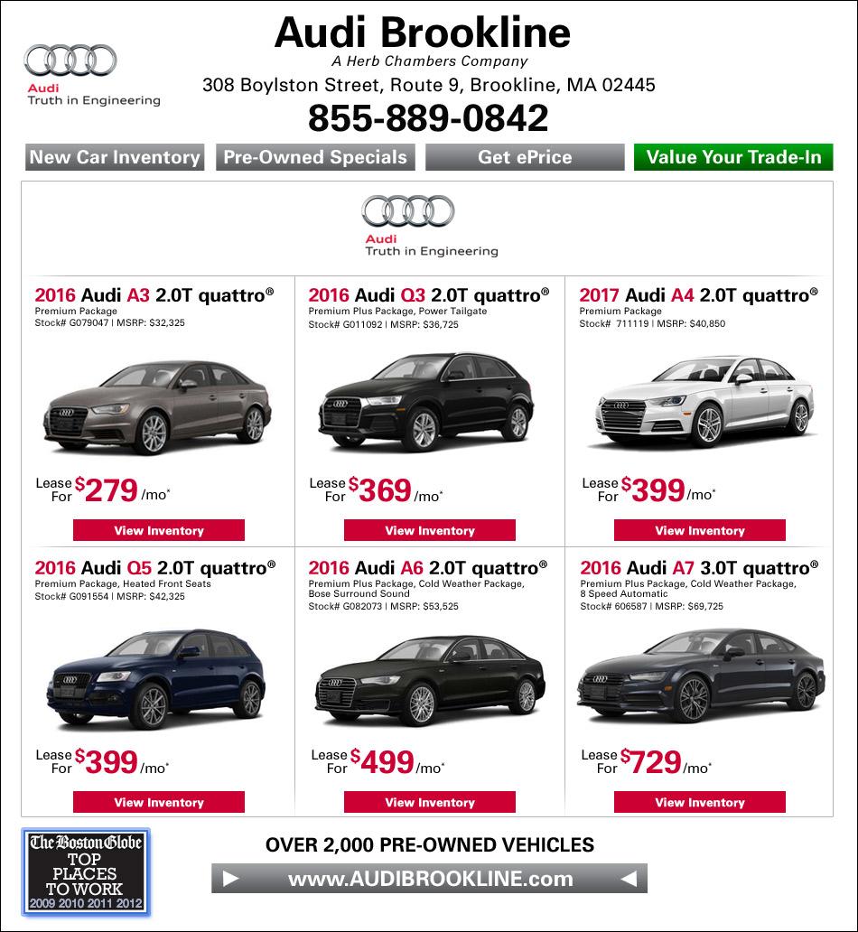 Audi Brookline - A Herb Chambers Company