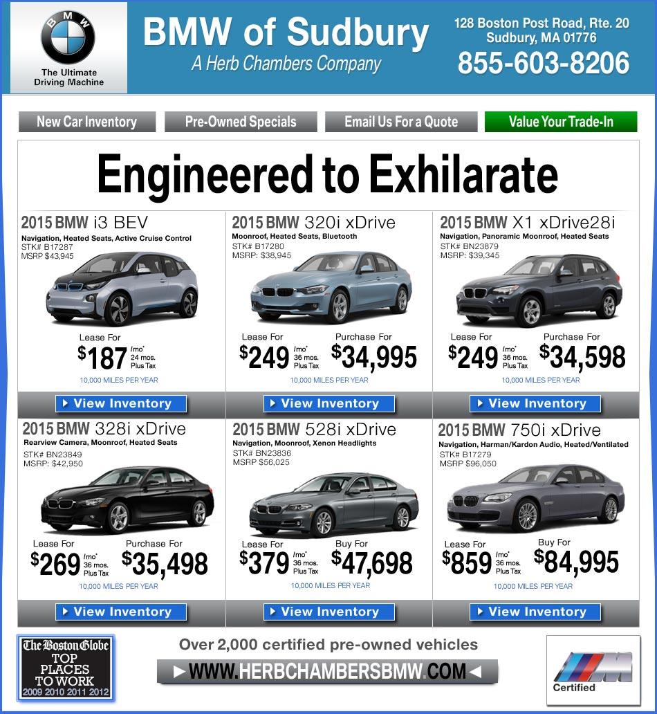 BMW of Sudbury A Herb Chambers pany