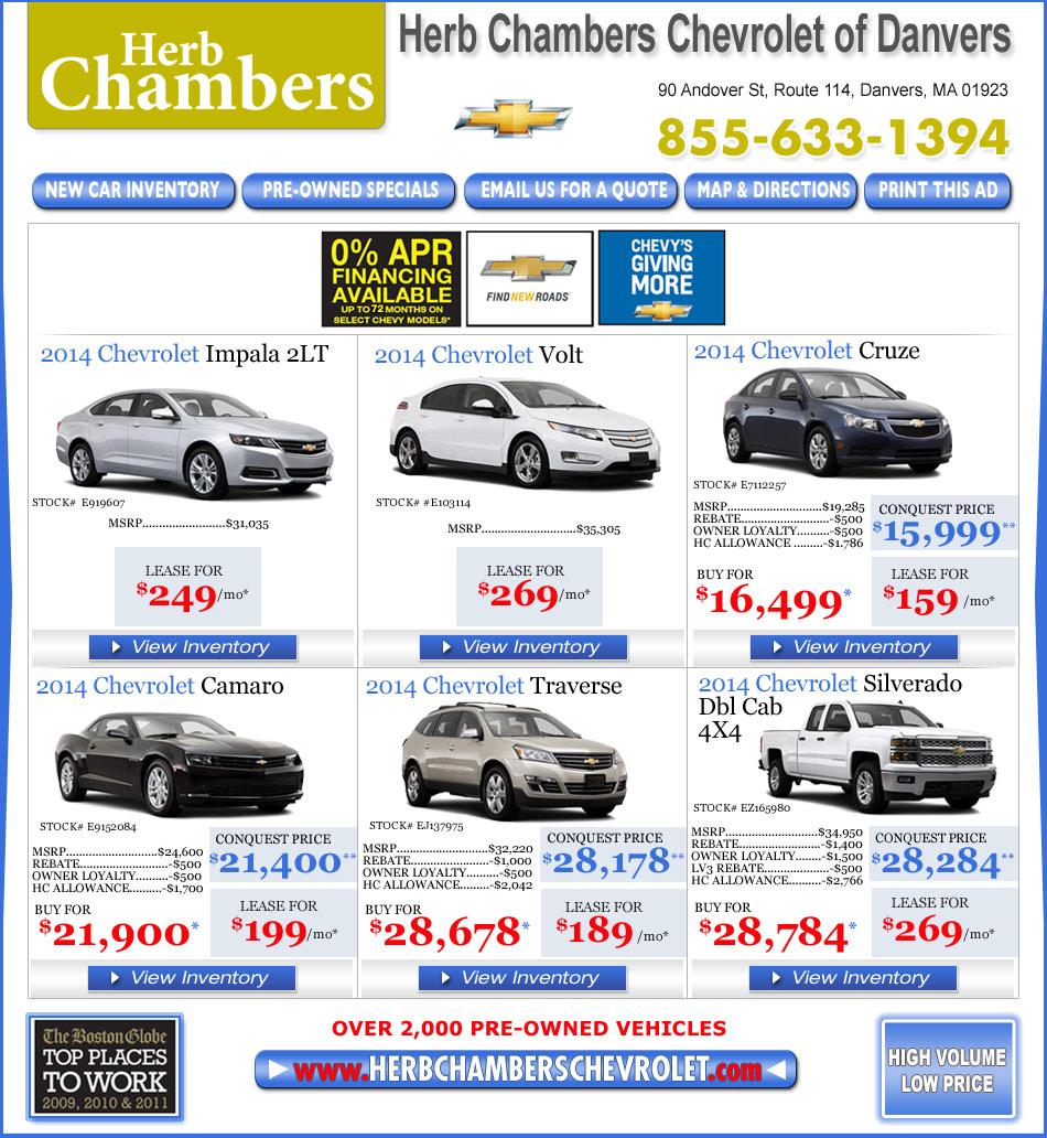 Herb Chambers Chevrolet Buick Pontiac