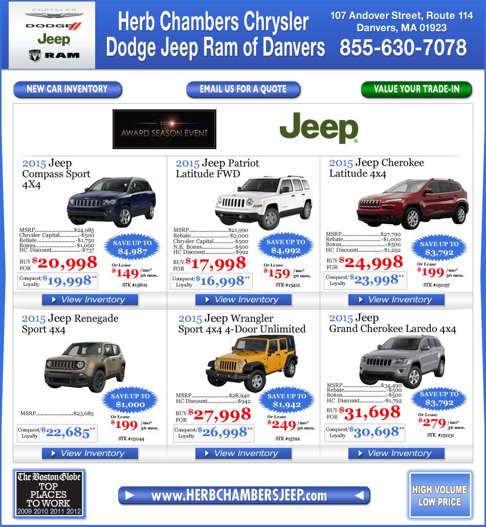 Herb Chambers Chrysler Jeep Dodge Of Danvers