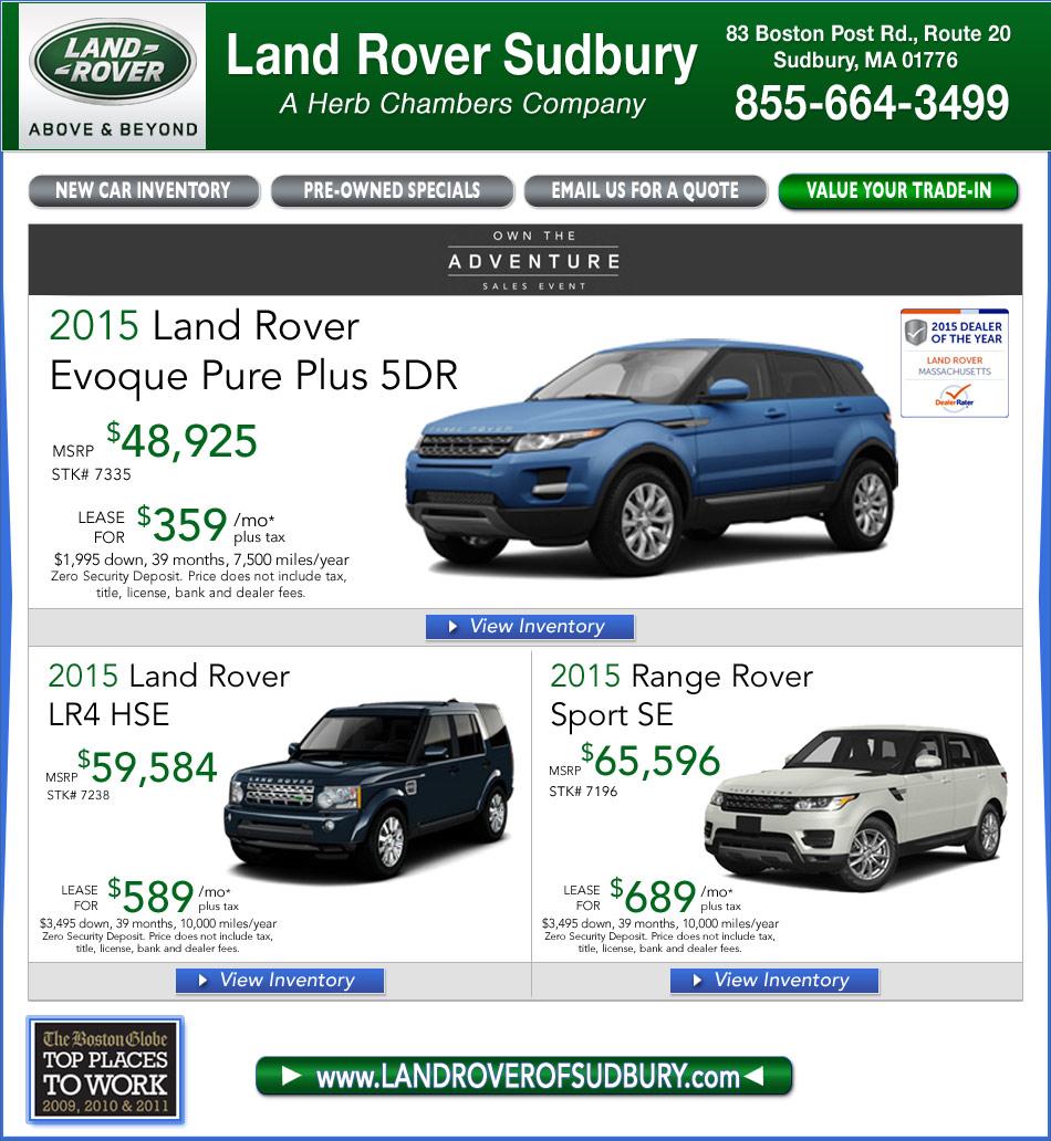 Land Rover Sudbury, A Herb Chambers Company