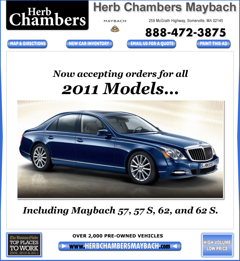 Boston Maybach Dealers Somerville