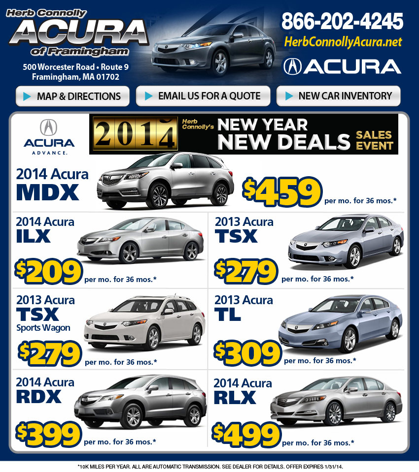 Acura Lease Deals >> Acura lease deals | Herb Connolly Acura of Framingham