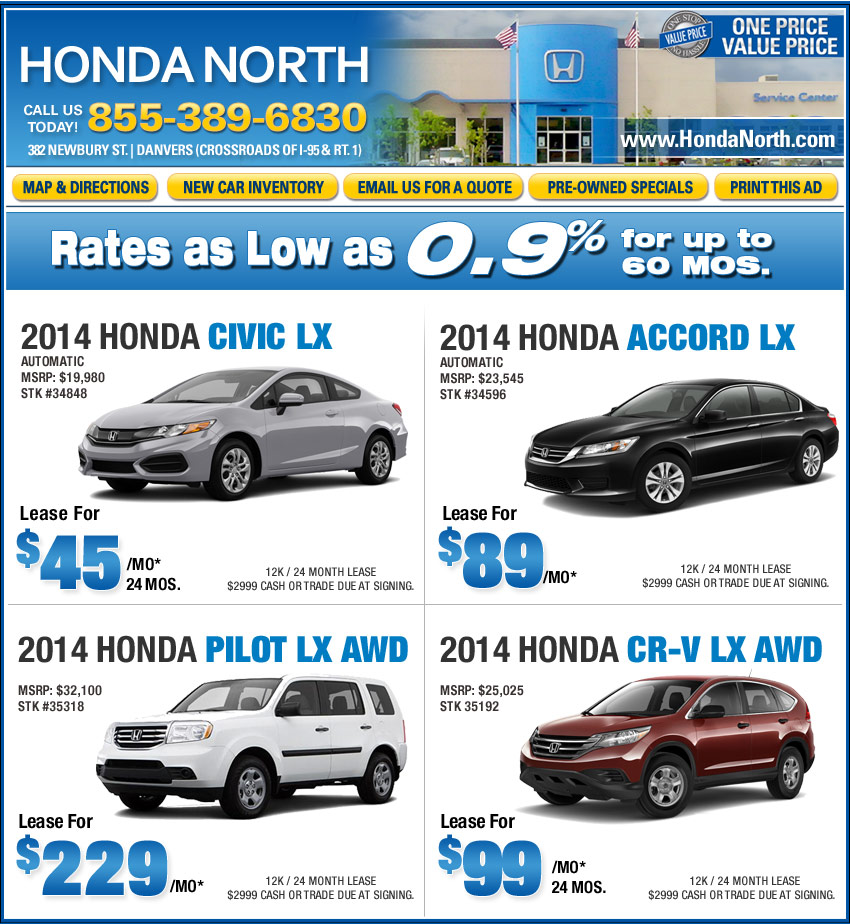 honda dealership ma honda north in danvers ma car deals. Black Bedroom Furniture Sets. Home Design Ideas