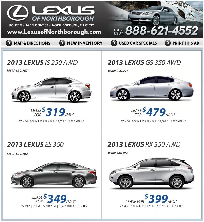 Mcgrath lexus coupons service