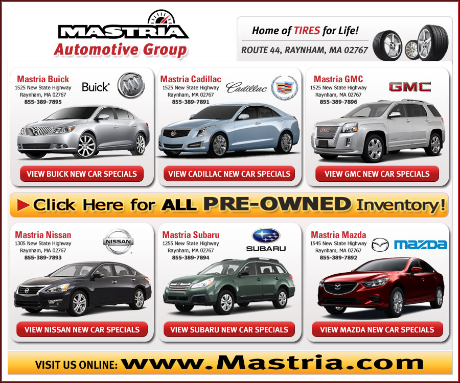 Buick Lease Deal: Boston.com Shop Mastria Automotive Group New Car Offers