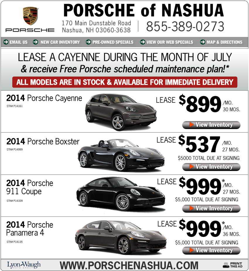 Boston Com Porsche Of Nashua New Porsche Deals