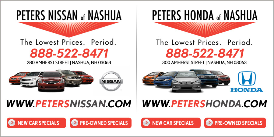 Shop Peters Of Nashua, NH New Honda, Nissan Deals On Boston.com.