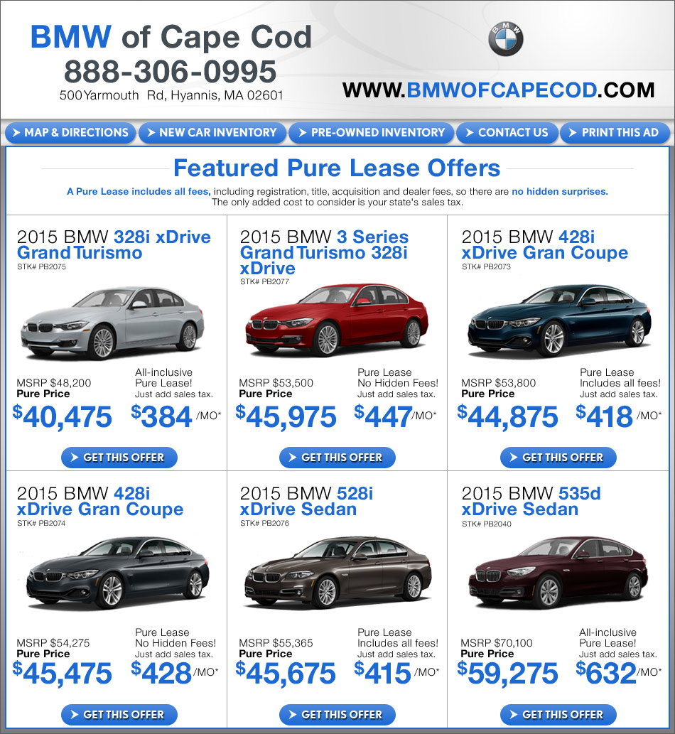 New Car Specials In Hyannis, MA