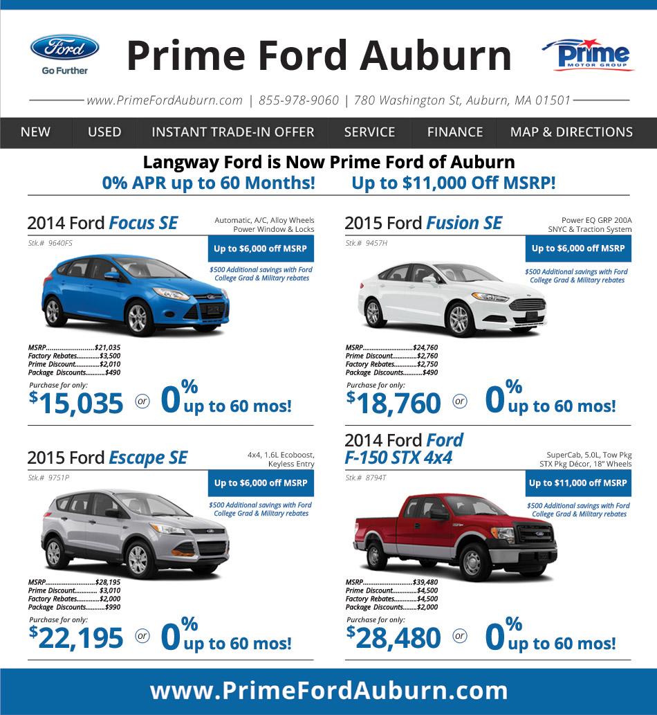 Acura Dealer Boston: Prime Ford Auburn On Boston.com