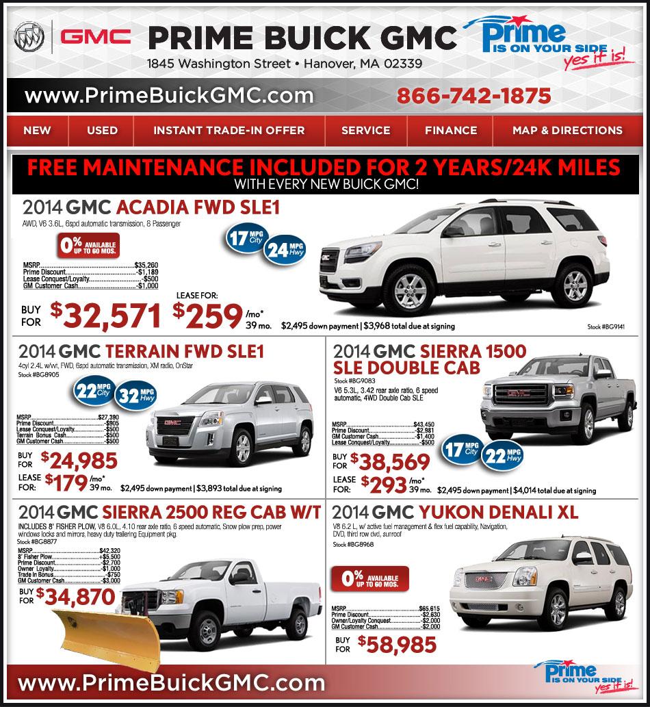 GMC Dealer In Boston : Prime GMC
