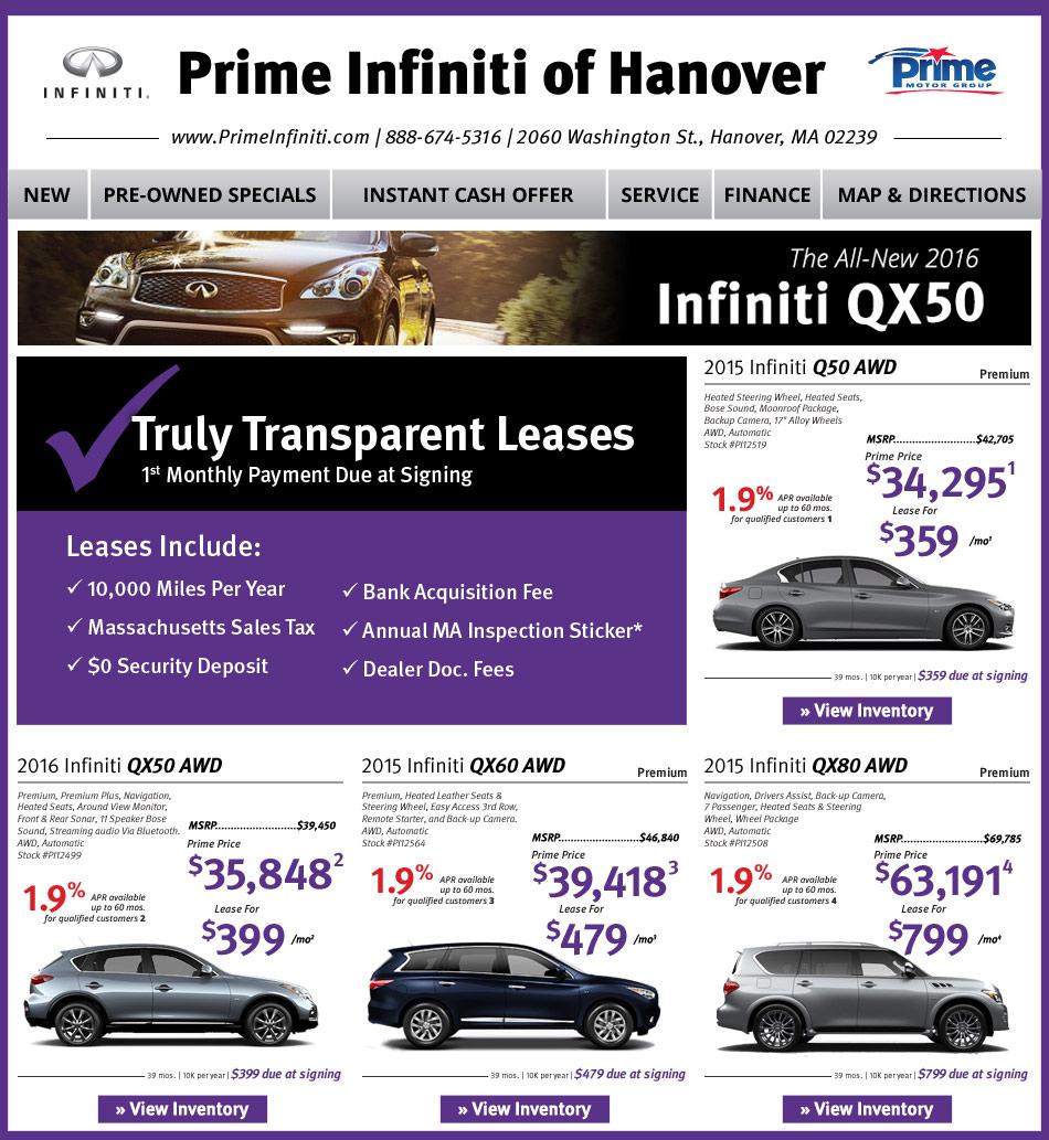 Boston Com Prime Infiniti Dealers Convenient To Boston