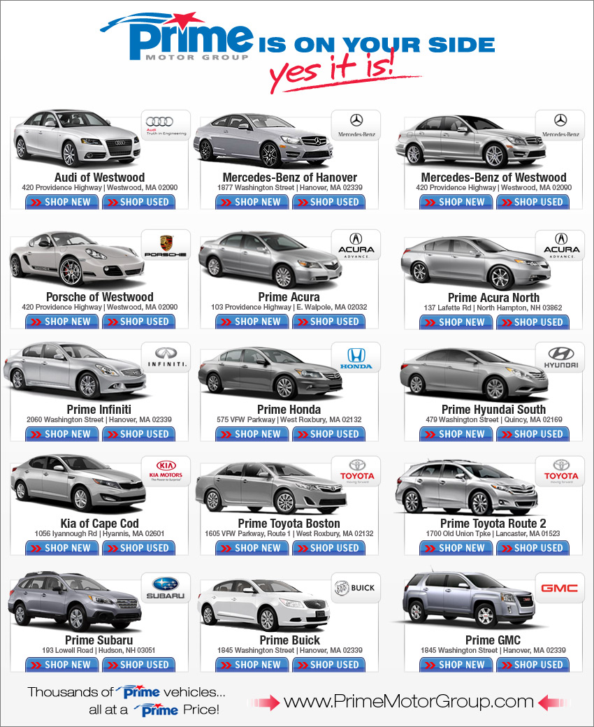 Prime Motor Group New Car Deals