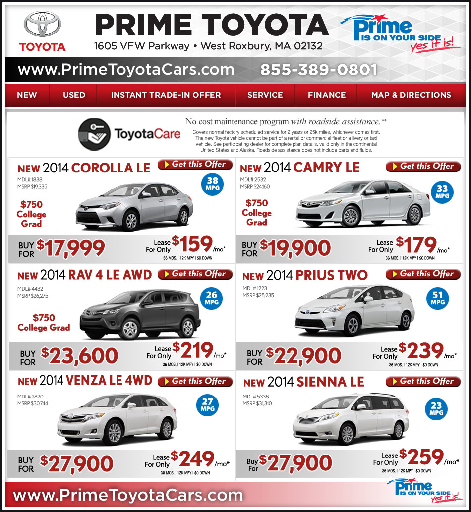 Toyota Of Reading Pa: Prime Toyota Dealership Serving Boston/Dedham Line