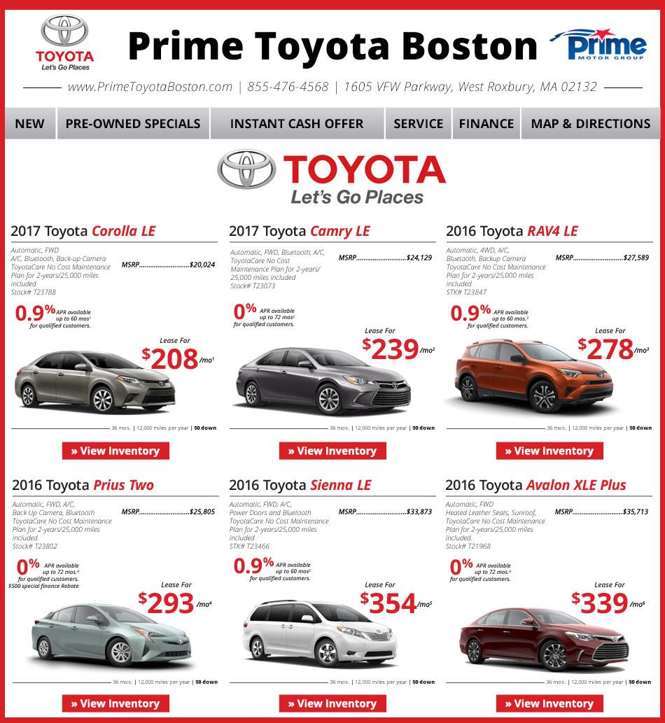 Acura Dealer Boston: Prime Toyota Dealership Serving Boston/Dedham Line