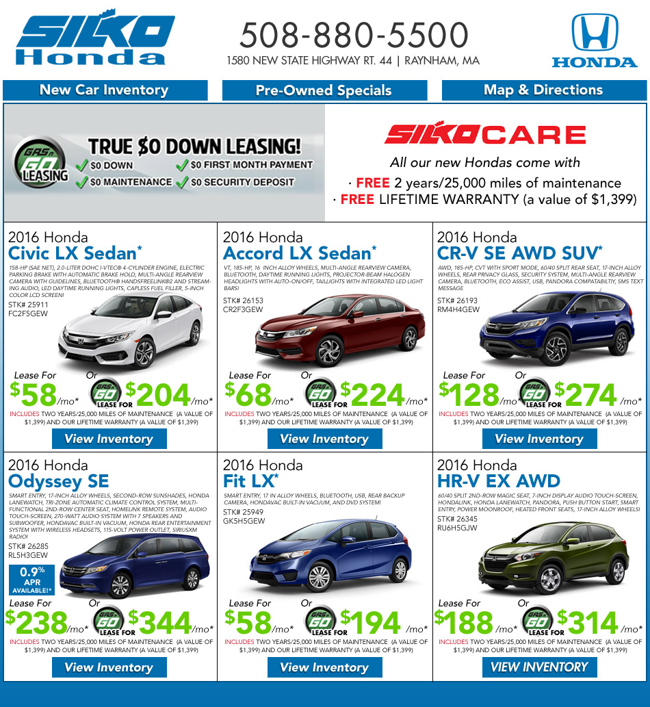 Image Result For Honda Accord Lease Deals Ri