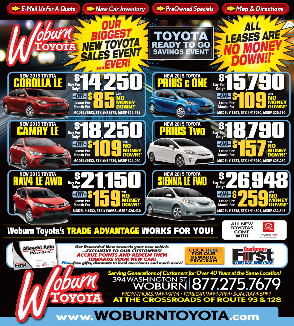 Toyota Dealerships Ma: Toyota Dealership In MA: Great Toyota Deals