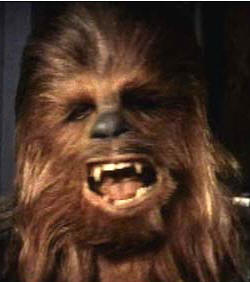 Chewbacca. Bad for health