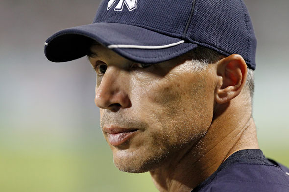 Joe Girardi left the Red Sox high and dry after nine
