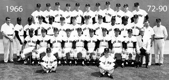 1966 Red Sox team photo