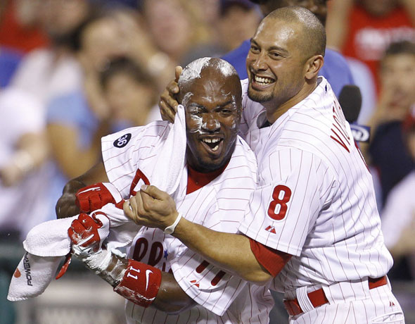 <strong>Shane Victorino on the Red Sox