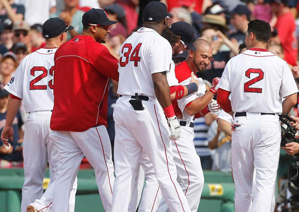 Red Sox win 50