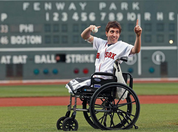 Marathon survivor Jeff Bauman