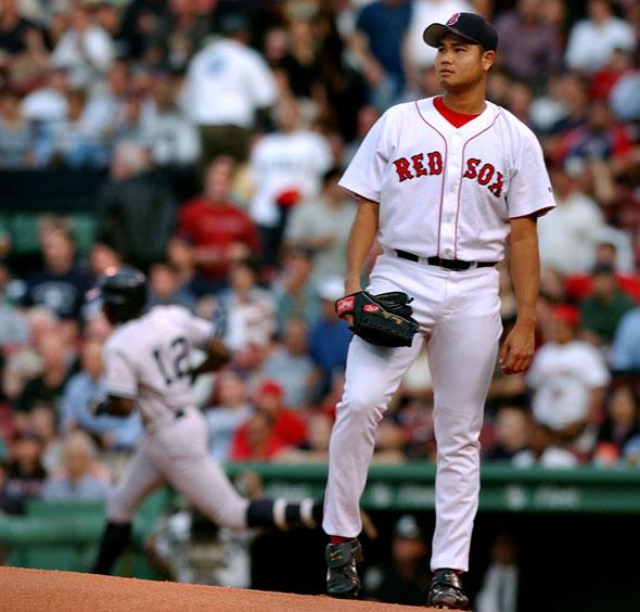 Boston's Bruce Chen