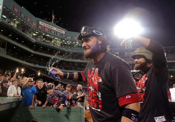 Sox clinch AL East