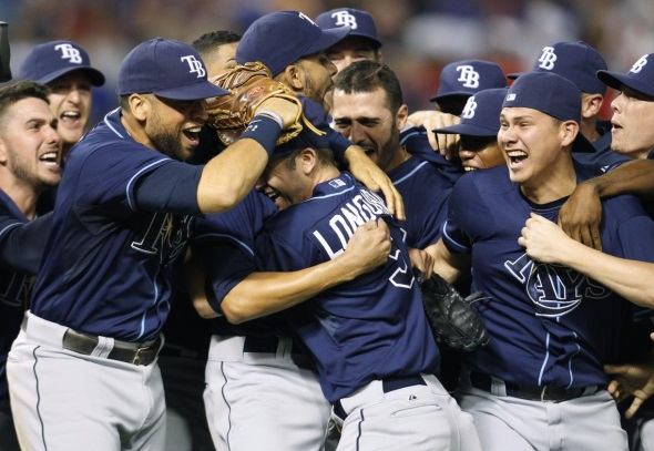 Rays back in playoffs