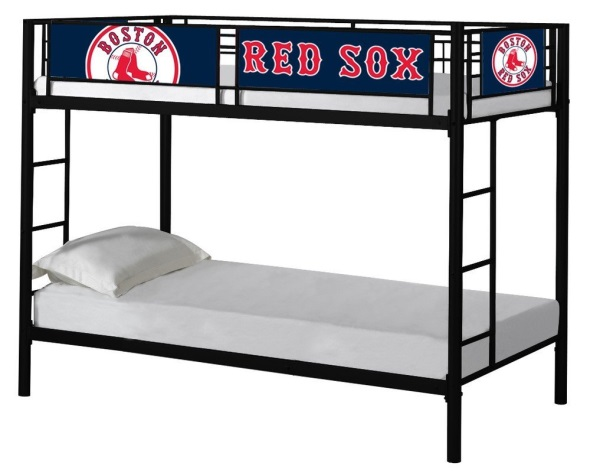 Red Sox sleep bed