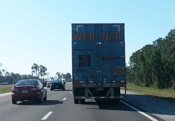 Tom Werner Truck