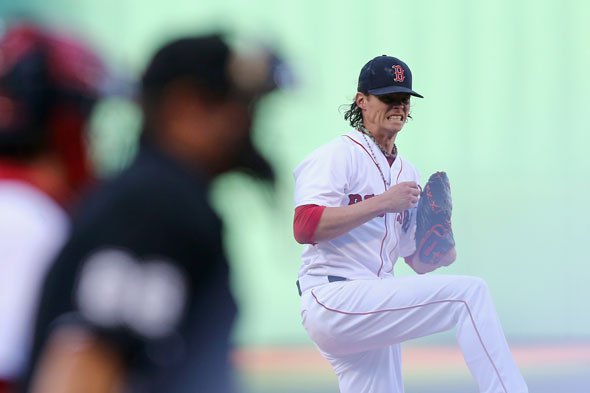 Clay Buchholz was horrendous at Fenway