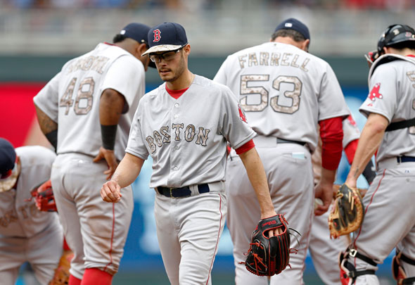 Joe Kelly roughed up again