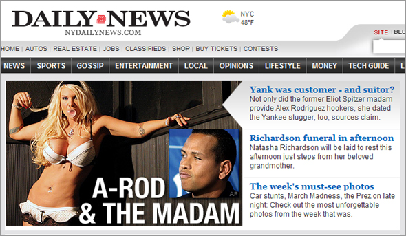 A-Rod and the madam