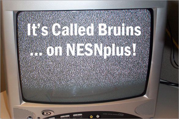 BDD - Bruins on NESNplus!