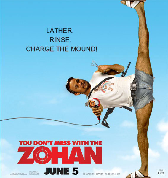 BDD / Don't Mess with the Zohan