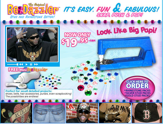 BDD-David Ortiz, the Bedazzler