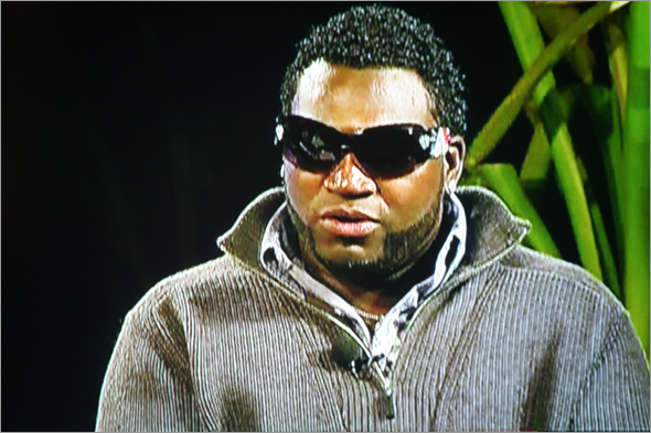 David Ortiz on Comcast SportsNet Sports Tonight