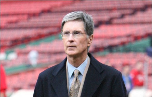 Stan Grossfeld, Boston Globe -- John Henry at Fenway, Oct. 24, 2007
