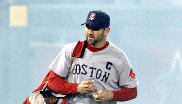 Red Sox catcher Jason Varitek