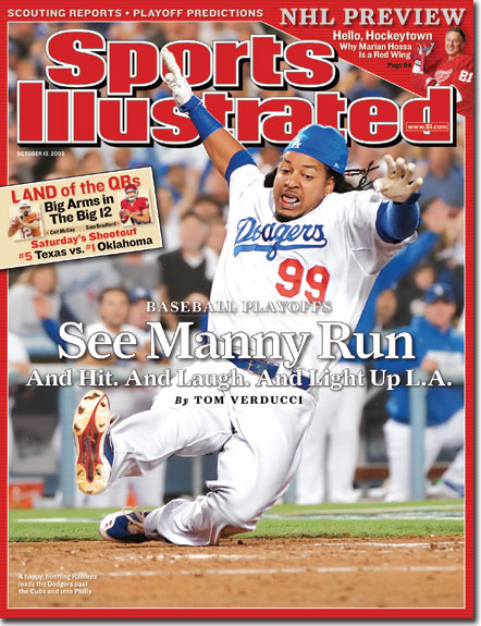 Manny's on the cover of SI's Oct. 13 issue