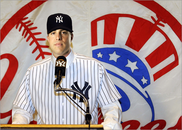BDD Photo Illustration -- Teixeira to Yankees