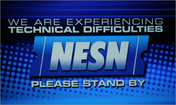 BDD - NESN Screenshot During Sox Comeback