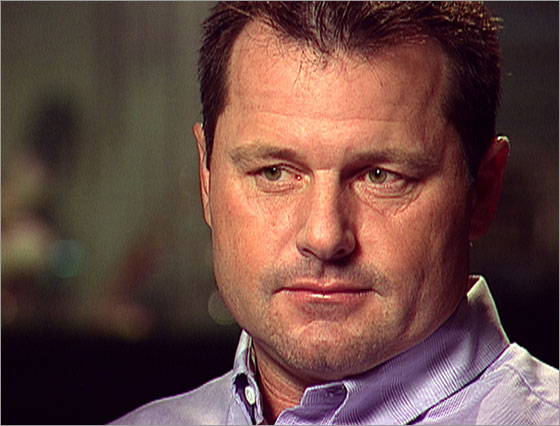 In this image captured from video and released by CBS News on Thursday, Jan. 8, 2008, baseball player Roger Clemens is seen at his Katy, Texas home, on Friday, Dec. 28, 2007, while giving his first interview since being accused of using performance-enhancing drugs by his former trainer in the Mitchell Report. The interview will air on CBS's 60 Minutes, on Sunday, Jan. 6, 2007.