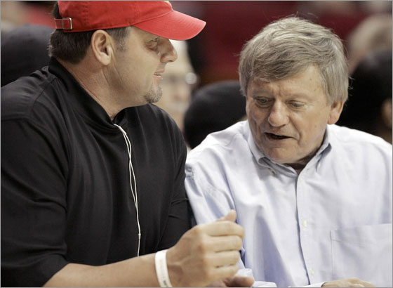Roger Clemens and Rusty Hardin discuss plans to spend a season in Boston