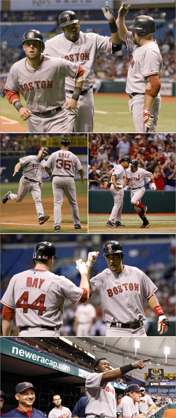 Sox Smash Six Home Runs at the Trop