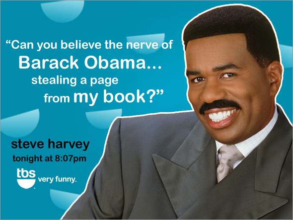 BDD -- Steve Harvey says...